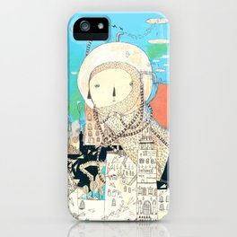 Logic will get you from A to B. Imagination will take you everywhere. iPhone Case