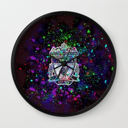 Watercolor Liverpool Wall Clock