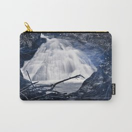 Glowing Midnight Waterfall Carry-All Pouch