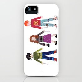 Harry, Hermione, and Ron iPhone Case