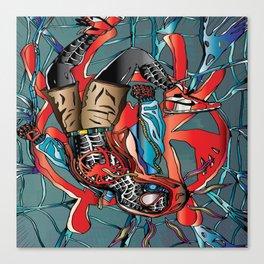 My Spider Verse Artwork Canvas Print