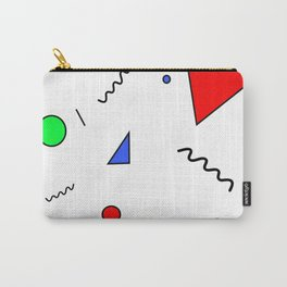 Minimalist Patterns Carry-All Pouch
