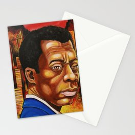 James Baldwin: The Fire Next Time Stationery Cards
