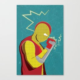 Spider-Man Series : Shocker Canvas Print