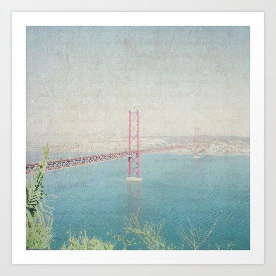 Letters From Lisbon Art Print