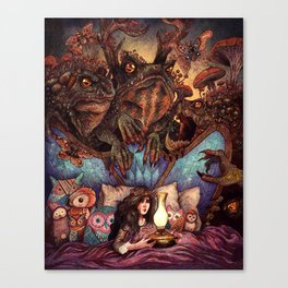 The Owl Princess and Her Night Terrors Canvas Print
