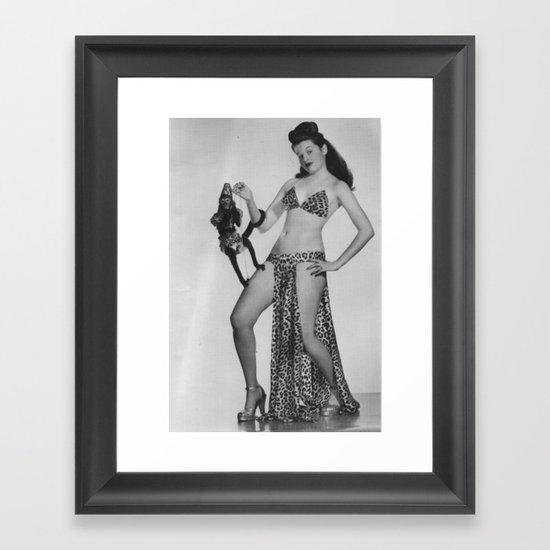 Iconic Images: Sally Lane & Fifi Framed Art Print