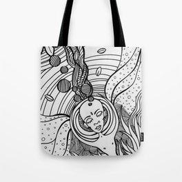 Cosmic Elevation Tote Bag