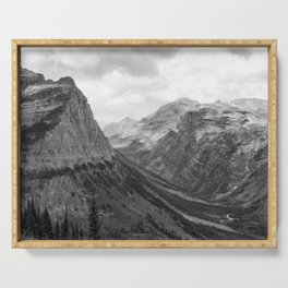 Majestic Sweep - Glacier NP Serving Tray