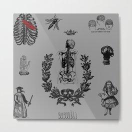 Apothecary Metal Print
