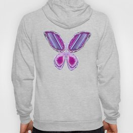 Violet butterfly Hoody