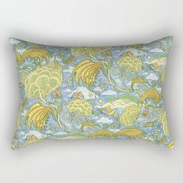 Tolkien Pattern - Plants Rectangular Pillow