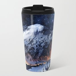 Mountain CALM IN space view Travel Mug