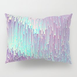 Iridescent Glitches Pillow Sham