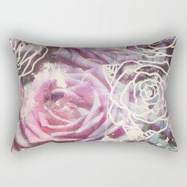 Roses are Pink Rectangular Pillow