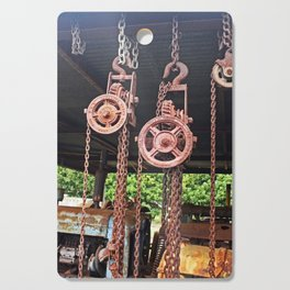 Chains & Tackle Cutting Board
