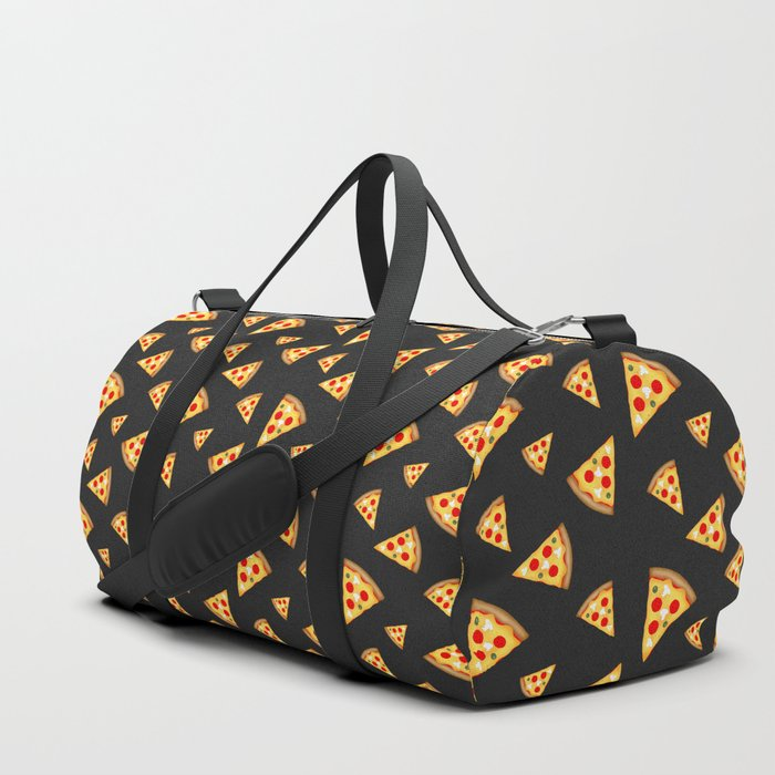 Cool and fun pizza slices pattern Duffle Bag