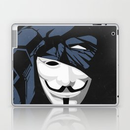 V For Bat (B Edition) Laptop & iPad Skin