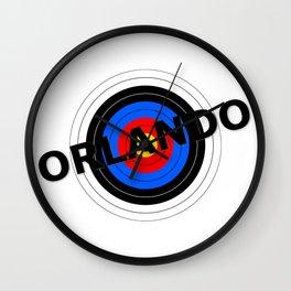 Orlando Target Wall Clock
