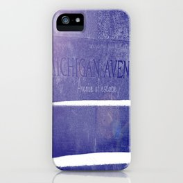 Avenue of escape iPhone Case
