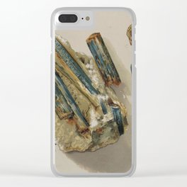 Natural Turquoise Clear iPhone Case