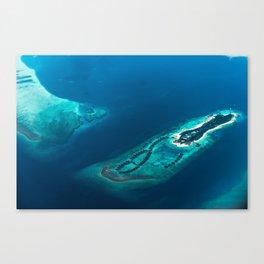 Above Paradise Canvas Print