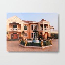 Manor House Metal Print