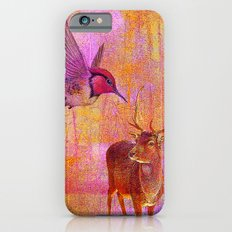 The loves platonic of the hummingbird and the deer iPhone 6 Slim Case