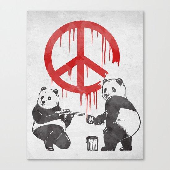 Pandalism V2 Canvas Print