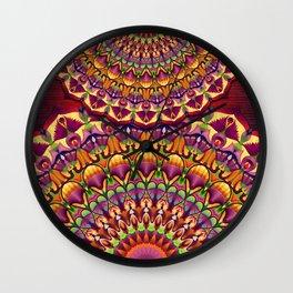 Ankh & Lotus Mandala Wall Clock