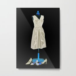Mannequin with Shoes Metal Print