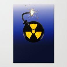 Atomic bomb Canvas Print