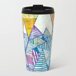 Maps and Mountains Travel Mug