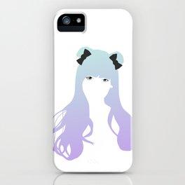 Cyan Vector iPhone Case