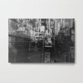 Time Square Metal Print