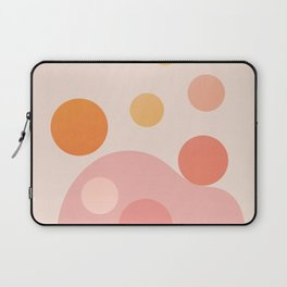 Abstraction_COLOR_DOTS_PLAYFUL_Minimalism_001 Laptop Sleeve