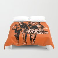 mad max Duvet Covers featuring Mad Max by leea1968