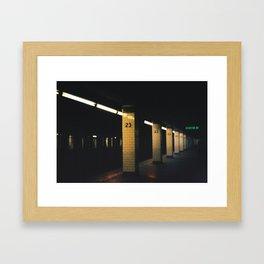 23rd St. Station, 2012 Framed Art Print