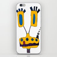 yellow submarine iPhone & iPod Skins featuring yellow submarine giraffe by JBLITTLEMONSTERS
