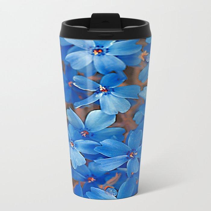 Flower Carpet(62) Metal Travel Mug