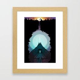 The Power Below Framed Art Print