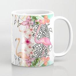 TROPICAL FlAmINGOS Coffee Mug