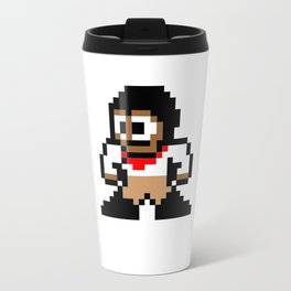 8-bit Andres Pose 1 Travel Mug