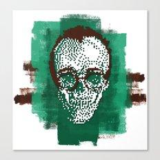Keith POSTportrait Canvas Print
