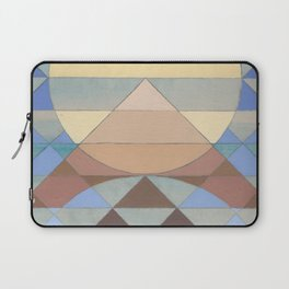 Pyramid Sun Turquoise Laptop Sleeve