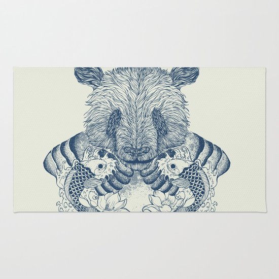 Panda Tattoo Rug