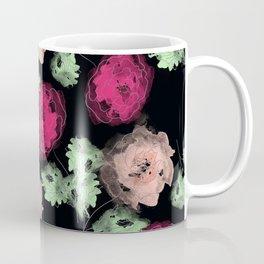Stylized roses. Coffee Mug