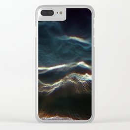 Vertex Noisy Displacement Clear iPhone Case