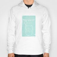 hamster Hoodies featuring Party Hamster  by Chet and Dot