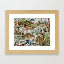 The World-Oceania Framed Art Print